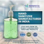 Hand Sanitizer Wholesale Supplier in India