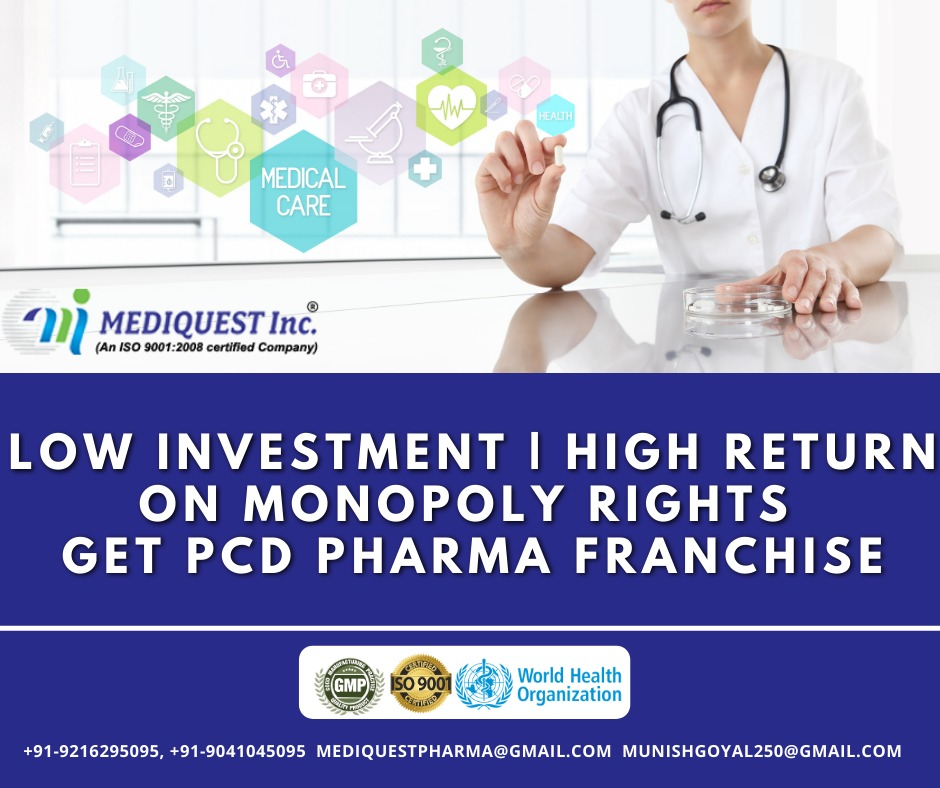 PCD Pharma Franchise Opportunity in India